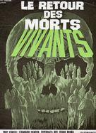 El ataque de los muertos sin ojos - French DVD movie cover (xs thumbnail)