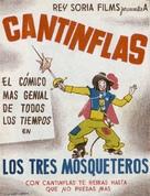Tres mosqueteros, Los - Spanish Movie Poster (xs thumbnail)