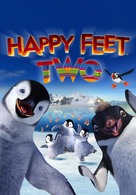 Happy Feet Two - DVD cover (xs thumbnail)