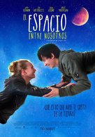 The Space Between Us - Peruvian Movie Poster (xs thumbnail)
