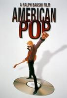 American Pop - VHS movie cover (xs thumbnail)
