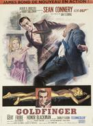 Goldfinger - French Theatrical poster (xs thumbnail)