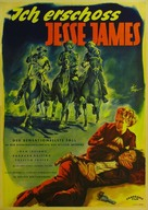 I Shot Jesse James - German Movie Poster (xs thumbnail)