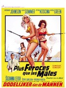 Deadlier Than the Male - Belgian Movie Poster (xs thumbnail)