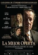 La migliore offerta - Argentinian Movie Poster (xs thumbnail)