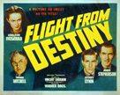 Flight from Destiny - Movie Poster (xs thumbnail)