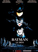 Batman Returns - French Movie Poster (xs thumbnail)