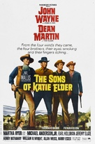 The Sons of Katie Elder - Theatrical movie poster (xs thumbnail)
