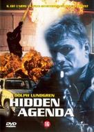 Hidden Agenda - Belgian DVD cover (xs thumbnail)