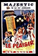 Le plaisir - Belgian Movie Poster (xs thumbnail)