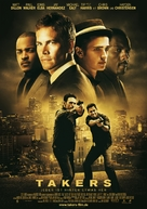 Takers - German Movie Poster (xs thumbnail)