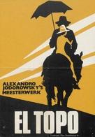 El topo - Dutch Movie Poster (xs thumbnail)