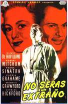 Not as a Stranger - Spanish Movie Poster (xs thumbnail)