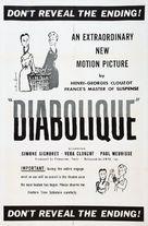Les diaboliques - Movie Poster (xs thumbnail)