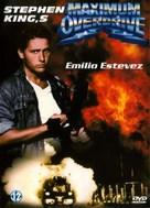 Maximum Overdrive - Dutch DVD movie cover (xs thumbnail)