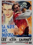 The Devil-Ship Pirates - Italian Movie Poster (xs thumbnail)