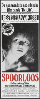 Spoorloos - Dutch Movie Poster (xs thumbnail)