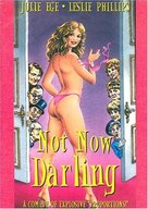 Not Now Darling - DVD cover (xs thumbnail)
