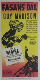 The Beast of Hollow Mountain - Swedish Movie Poster (xs thumbnail)