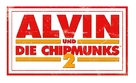 Alvin and the Chipmunks: The Squeakquel - German Logo (xs thumbnail)