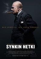 Darkest Hour - Finnish Movie Poster (xs thumbnail)