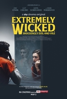 Extremely Wicked, Shockingly Evil, and Vile - British Movie Poster (xs thumbnail)