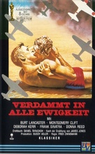 From Here to Eternity - German VHS movie cover (xs thumbnail)