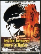 Hitler: The Last Ten Days - French Movie Poster (xs thumbnail)