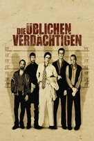 The Usual Suspects - German DVD cover (xs thumbnail)