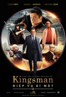 Kingsman: The Secret Service - Vietnamese Movie Poster (xs thumbnail)