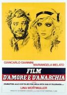 Film d'amore e d'anarchia, ovvero 'stamattina alle 10 in via dei Fiori nella nota casa di tolleranza...' - Italian Movie Poster (xs thumbnail)
