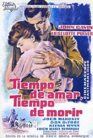 A Time to Love and a Time to Die - Spanish Movie Poster (xs thumbnail)
