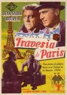 La traversée de Paris - Spanish Movie Poster (xs thumbnail)