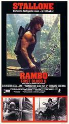 Rambo: First Blood Part II - Swedish Movie Poster (xs thumbnail)