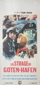 Nacht fiel über Gotenhafen - Italian Movie Poster (xs thumbnail)