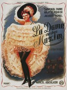 Dame de chez Maxim's, La - French Movie Poster (xs thumbnail)