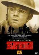 The Lost Battalion - German DVD cover (xs thumbnail)