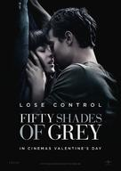 Fifty Shades of Grey - Swedish Movie Poster (xs thumbnail)