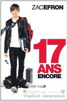 17 Again - Swiss Movie Poster (xs thumbnail)