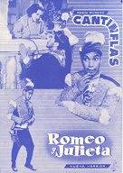 Romeo y Julieta - Spanish Movie Poster (xs thumbnail)