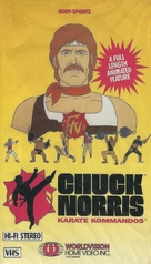 """Chuck Norris: Karate Kommandos"" - VHS movie cover (xs thumbnail)"
