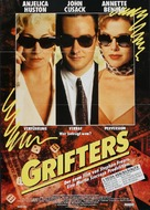 The Grifters - German Movie Poster (xs thumbnail)