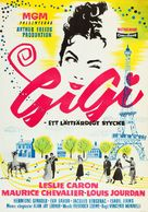 Gigi - Swedish Movie Poster (xs thumbnail)