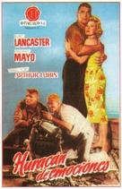 South Sea Woman - Spanish VHS movie cover (xs thumbnail)