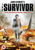 The Survivor - British DVD cover (xs thumbnail)
