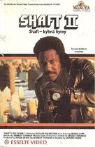 Shaft's Big Score! - Finnish VHS movie cover (xs thumbnail)