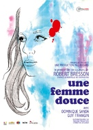 Une femme douce - French Movie Poster (xs thumbnail)