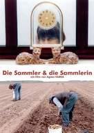Glaneurs et la glaneuse, Les - German Movie Poster (xs thumbnail)