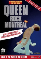 Queen Rock Montreal & Live Aid - Italian Re-release movie poster (xs thumbnail)