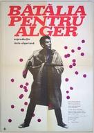 La battaglia di Algeri - Romanian Movie Poster (xs thumbnail)